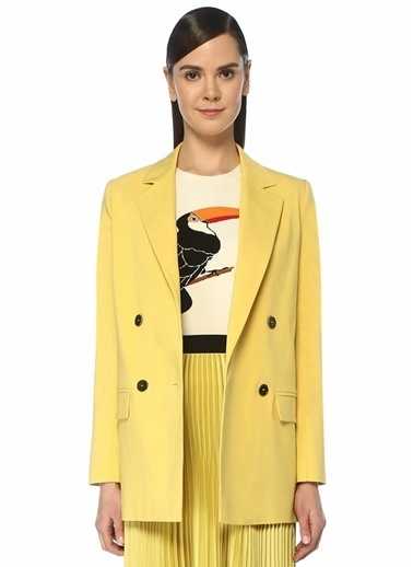 Beymen Club Ceket Sarı
